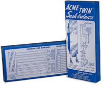 Acme Twin Sash Balance